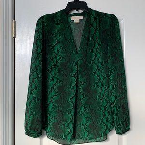 Michael Kors Long Sleeve Blouse P/M